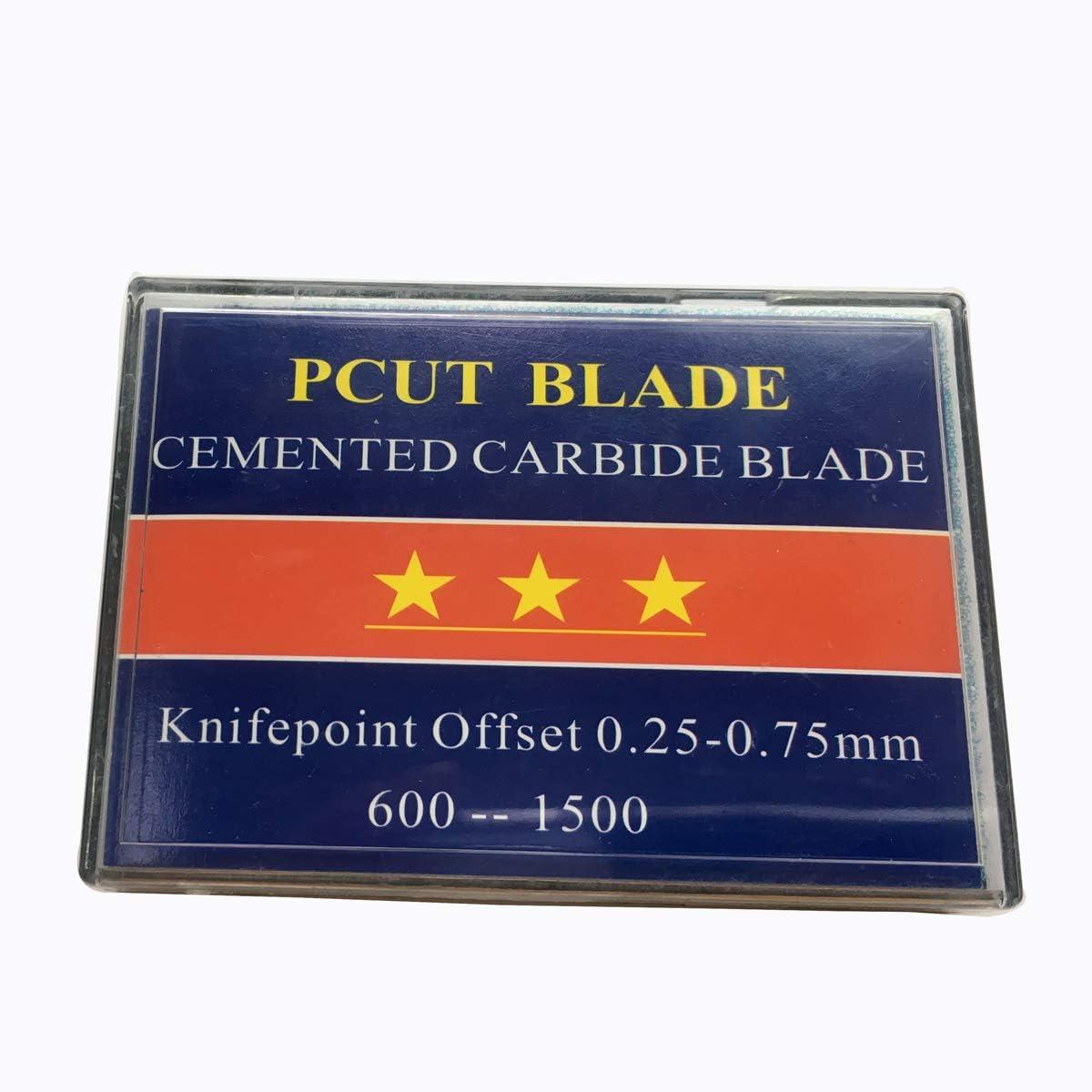 Soporte para cuchilla y 30 cuchillas de repuesto HQ para cortador de pcut Plotter COLE 30 45 60 grados: Amazon.es: Bricolaje y herramientas