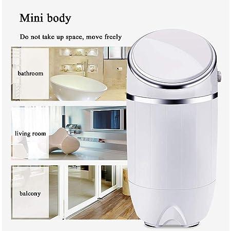 Atten Mini Lavadora compacta de lavandería Lavadora: Ventanilla ...
