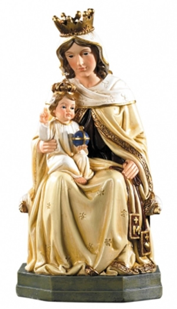 Christian Brands Our Lady of Mt Carmel Statue, 8 Inch