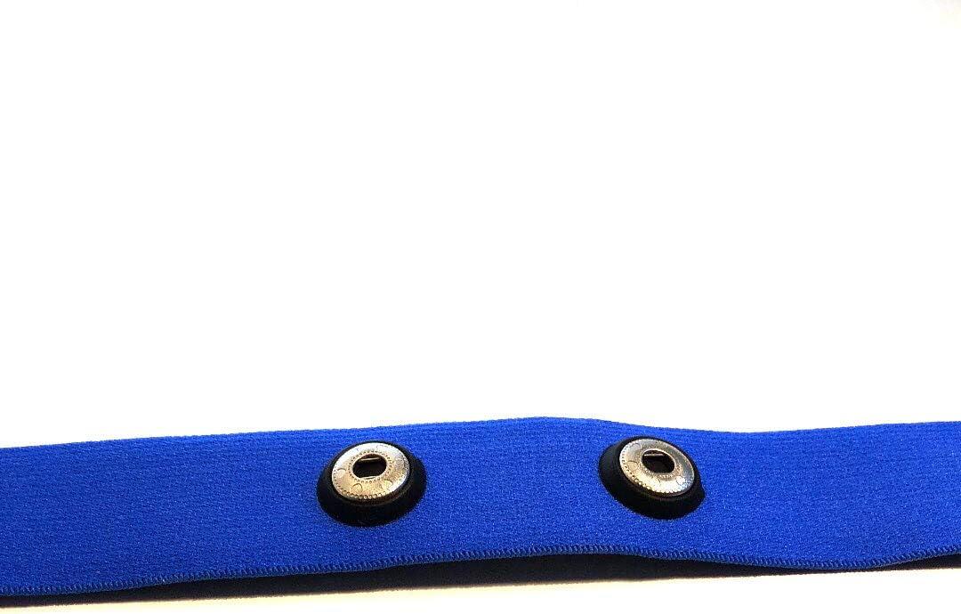Recambio de correa de pecho, color azul, tallas M–XXL,para modelos con Polar Soft Strap, adecuado para sensores H1, H2, H3, H6, H7, H10
