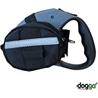doggo Retractable Leash Accessory Bag for Large Retractable Leashes, Black