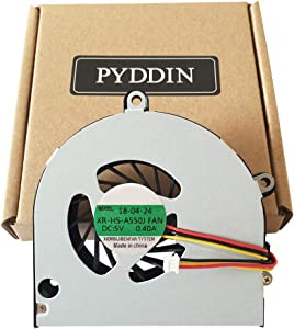 PYDDIN Laptop CPU Cooling Fan Cooler for Toshiba Satellite A655 A655D A660 A660D A665 A665D C660 C650 L670 L670D L675 L675D P750 P750D P755 P755D Series