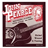 John Pearse P3000 Nickel Plated Acoustic Guitar Strings, Medium