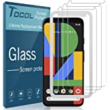 TOCOL 3 Pack Compatible with Google Pixel 4 XL Screen Protector Tempered Glass HD Clarity Touch Accurate 9H Hardness…