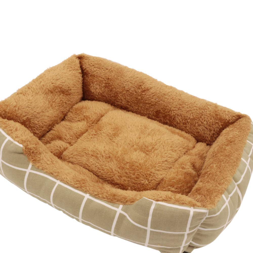 5 SmallPet Bed Luxury Pet Bed Sofa Sofable Sofable Cushion Dog Bed Basket (Colore: 004, Dimensione: piccolo)