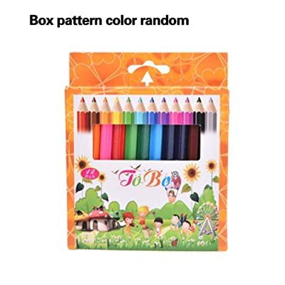 Kifdiifgoso 12PCS/Set Colored Pencils for Artists, Kids, Sketchers, Students Coloring and Drawing: Toys & Games