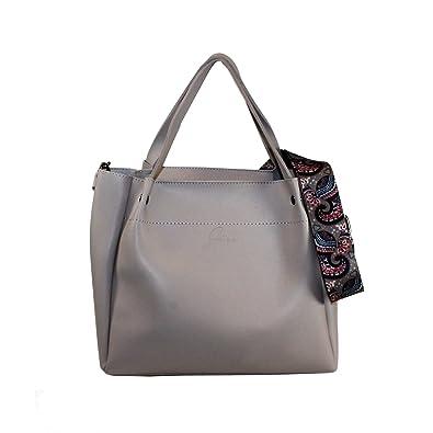 Glüxklee Damen Handtasche (Beige): : Schuhe