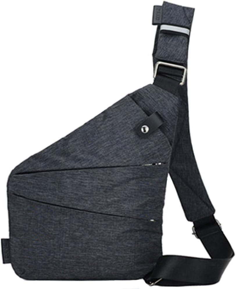 Rullar Multi-usage anti-vol Sac de cach/é Hommes Sacs Bandouli/ère Mens Sling Bag /Épaule Randonn/ée D/és/équilibre Sac /à Dos Poitrine Casque Shoulder Crossbody Messenger Bag