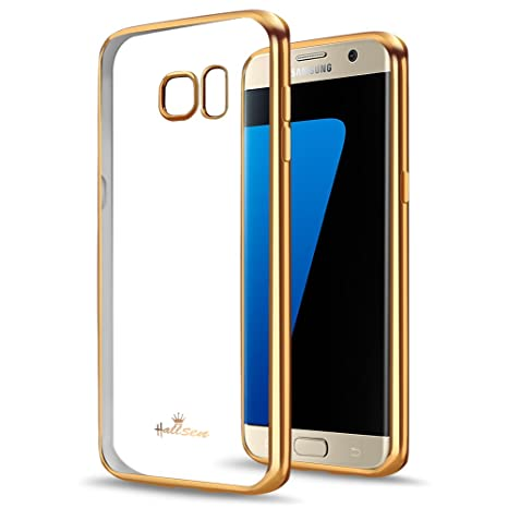 Samsung Galaxy S7 Edge móvil, hallsen® [galvanizado TPU ...