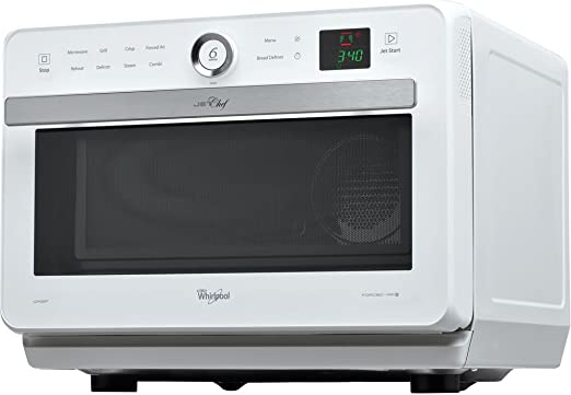 Whirlpool jt469wh Jet Chef horno microondas + Grill con cocción a ...