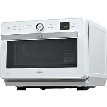 Whirlpool jt469wh Jet Chef horno microondas + Grill con cocción a vapor Capacidad 33 litros Potencia