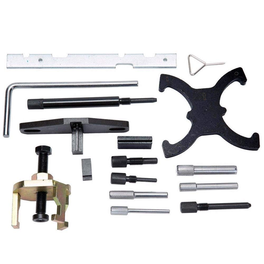 SHIOUCY Timing Belt Change Engine Adjustment Tool Timing Belt Locking Tool Ford Focus Fiesta Mondeo