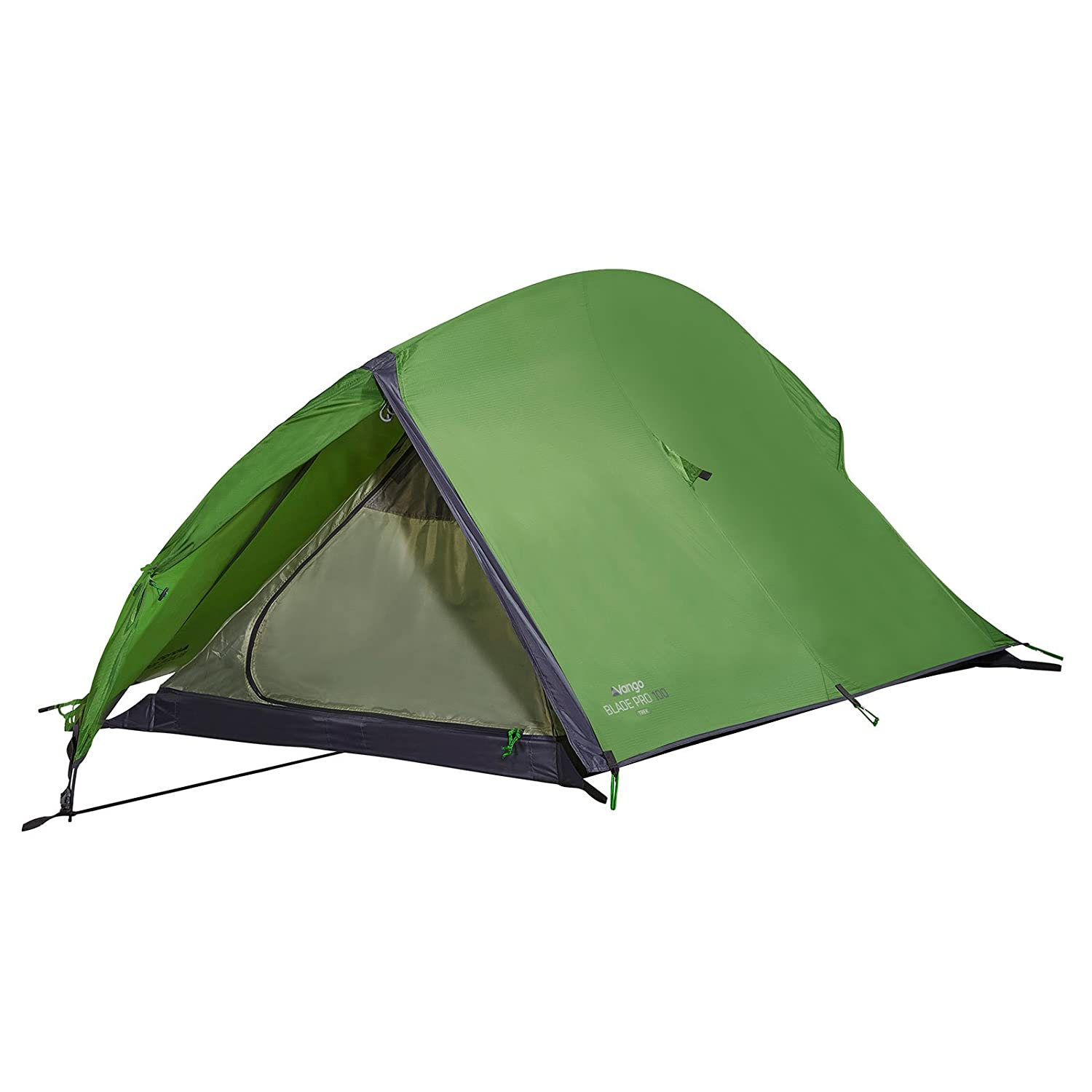 1 Man Tent - Camping Blade Pro 100 Backpacking Tent - Pamir Green - Vango