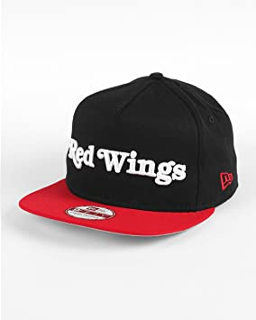 A NEW ERA Gorras/Gorros Hombre de Equipo Word Detroit Red Wings ...