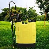Binxin 5-Gallon 20L Knapsack Hand Piston Pump Lawn Garden Farm Sprayers Backpack Garden Sprayer (US STOCK)