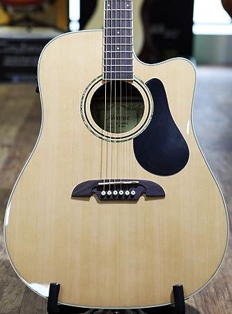 Alvarez - Guitarra Acústica RD26CE con funda incluida, color natural ...