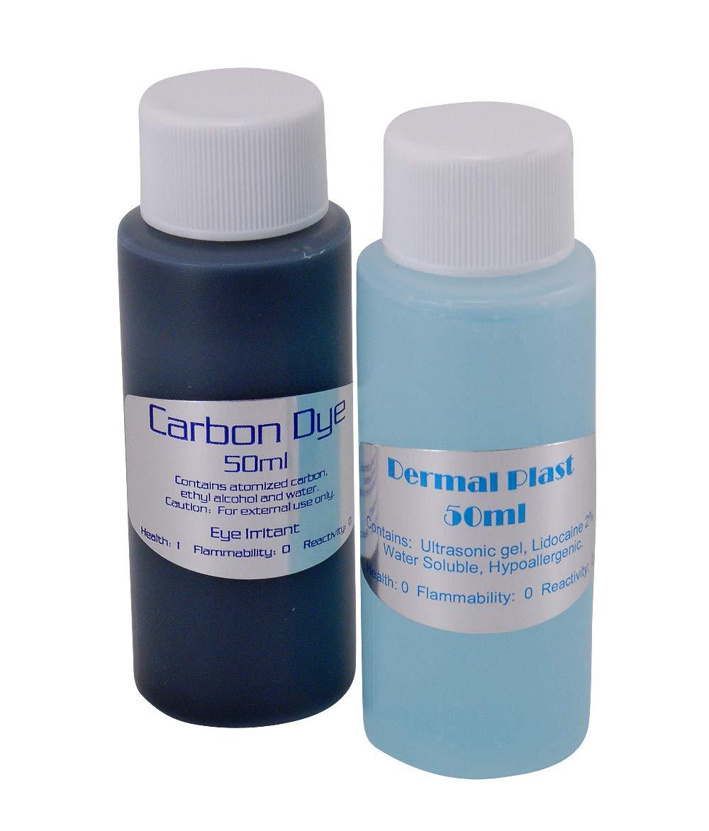 Carbon Dye Dermal Plast Kit, 100ml for Laser and IPL Treatments