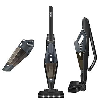 Aspiradora de varilla sin cable, AZUNX 2 en 1 Limpiador vertical ...
