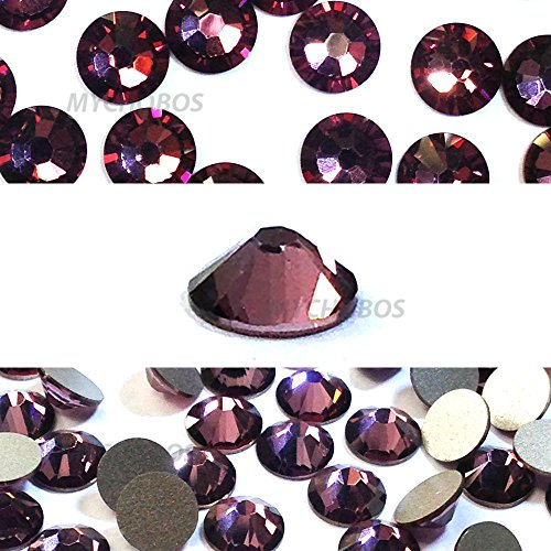 CRYSTAL ANTIQUE PINK (001 ANTP) Swarovski NEW 2088 XIRIUS Rose 20ss 5mm flatback No-Hotfix rhinestones ss20 144 pcs (1 gross) *FREE Shipping from Mychobos (Crystal-Wholesale)*