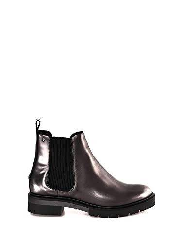 e731039a3132d Tommy Hilfiger Women's Metallic Leather Chelsea Boot: Amazon.co.uk ...