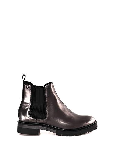 85188edb9aaf Tommy Hilfiger Women s Metallic Leather Chelsea Boot  Amazon.co.uk ...