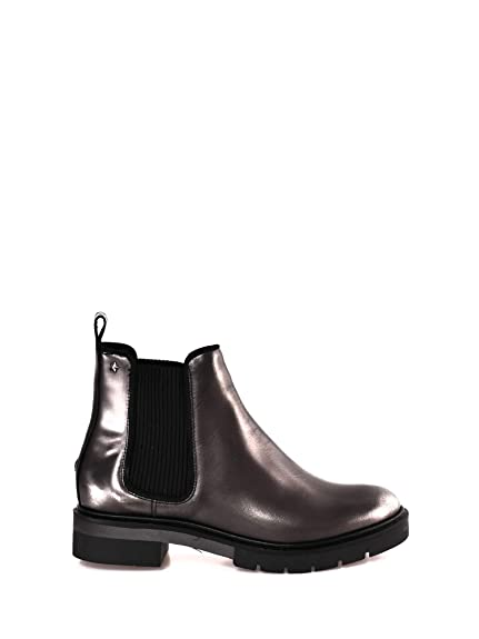 Tommy Hilfiger Metallic Leather Chelsea Boot, Bottes Femme