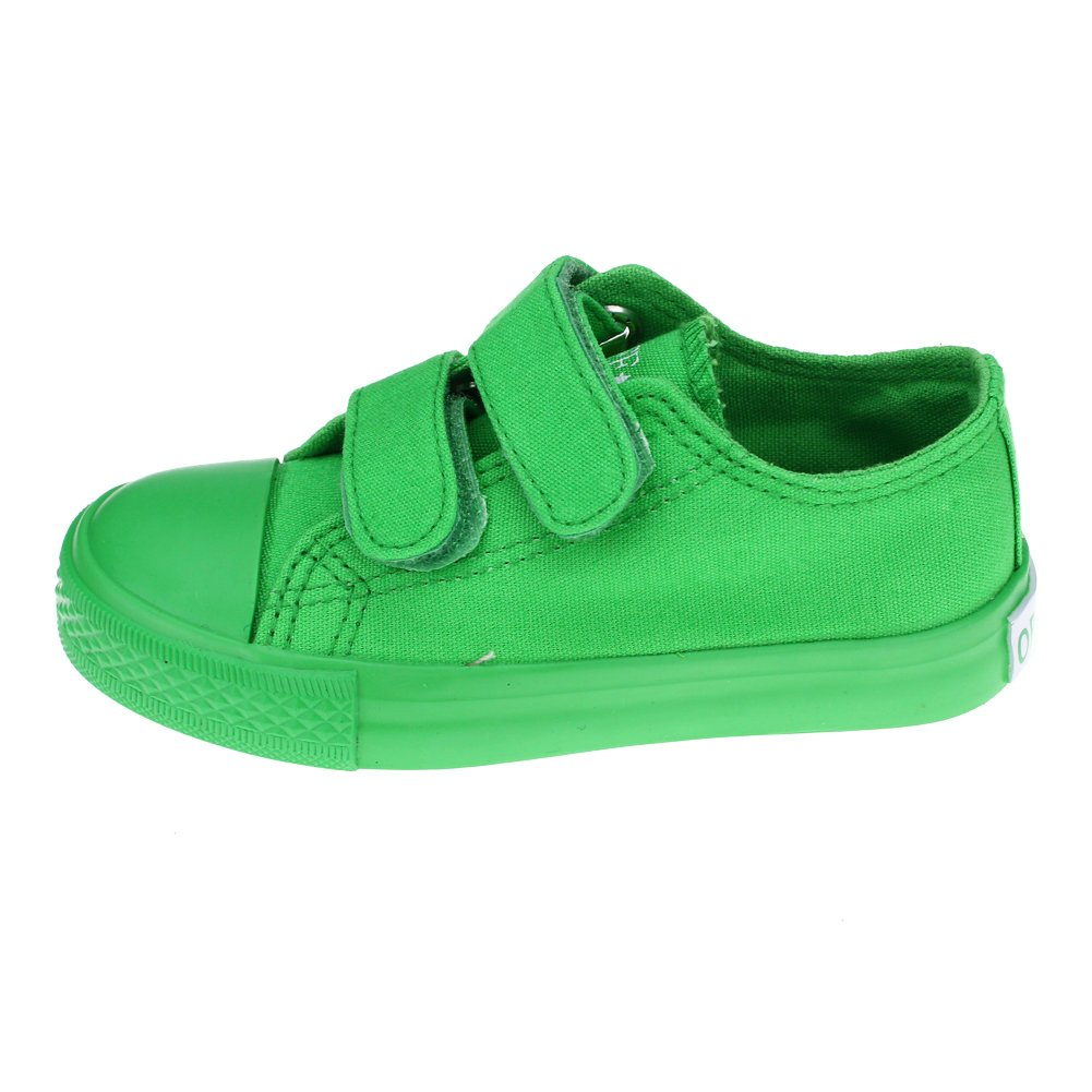Maxu Canvas Kid Sneaker Hook and Loop Loafers CB-604