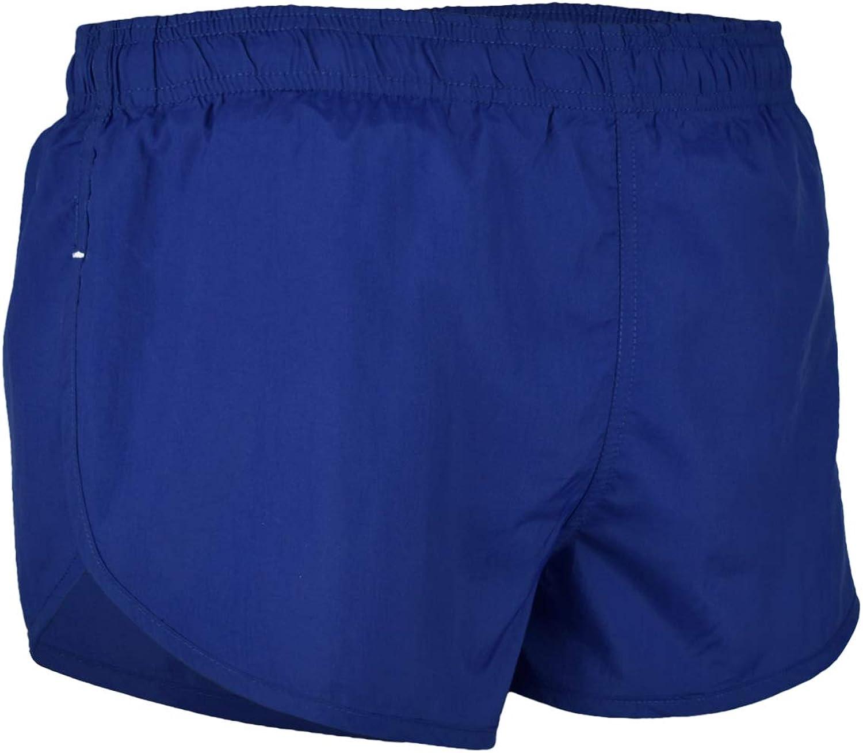 VBRANDED Mens American Flag Side Split Running Shorts with Mesh Linen