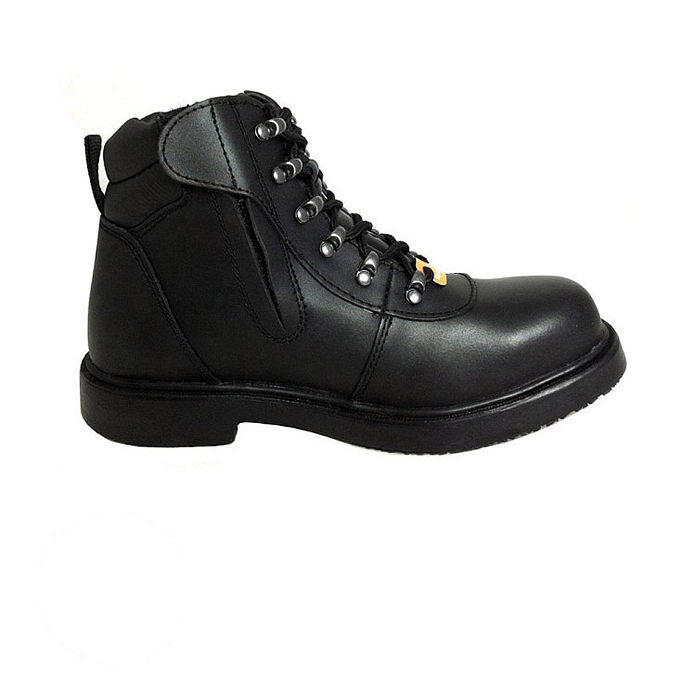 Genuine Grip Men's St Zipper Work Boot Black