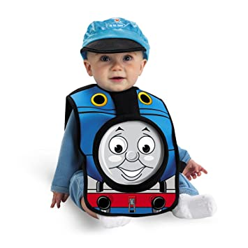 INFANT Size 12-18 My First Thomas Choo Choo Train Costume  sc 1 st  Amazon.com & Amazon.com: INFANT Size 12-18 My First Thomas Choo Choo Train ...