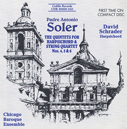 Soler: Quintets for Harpsichord and Strings, Nos. 4, 5, 6