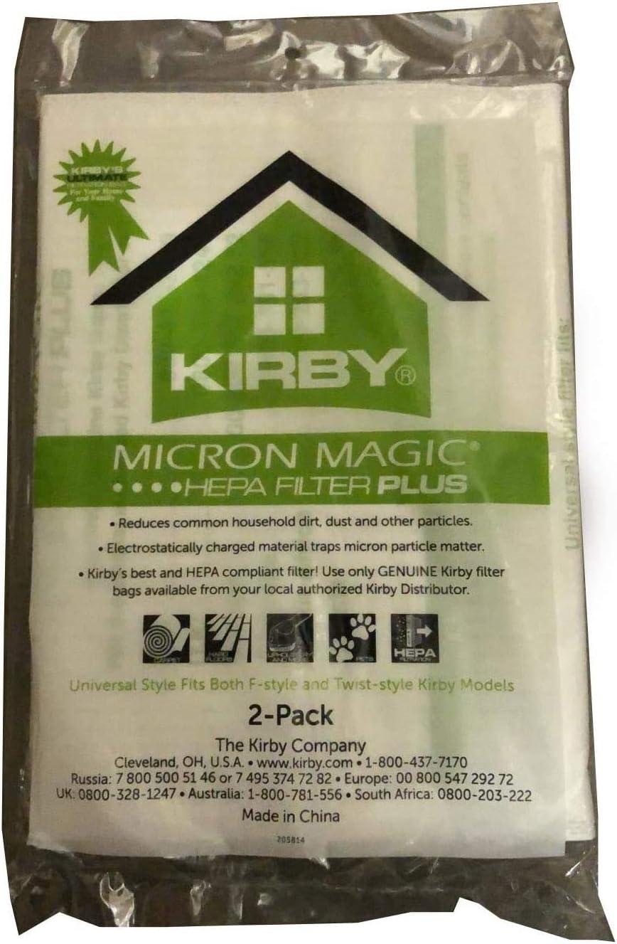 Kirby Micron Magic Micro Allergen Plus HEPA Vacuum Filter Bags 205814A