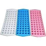Tzipco's Ice Cube Tray Mini Ball Shape, Each Tray Makes 60 Ice Balls (3 Pack)