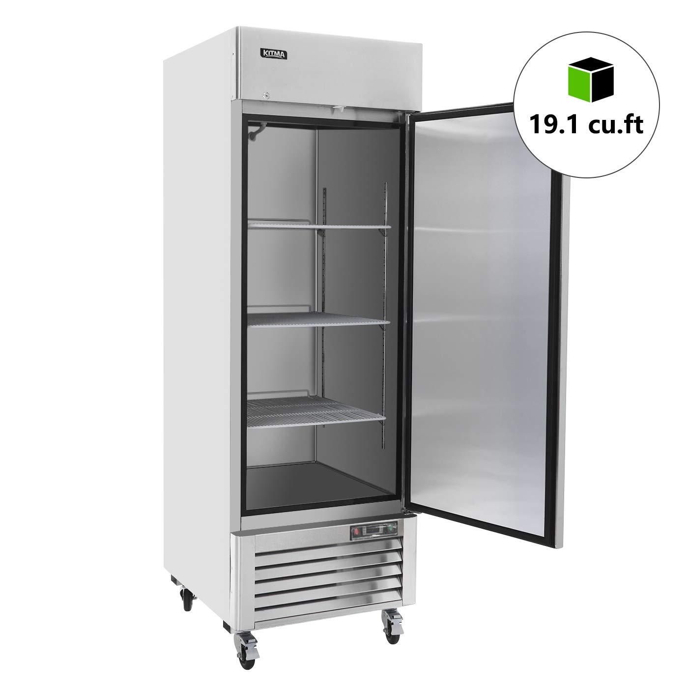 Amazon.com: Congelador vertical de puerta individual ...