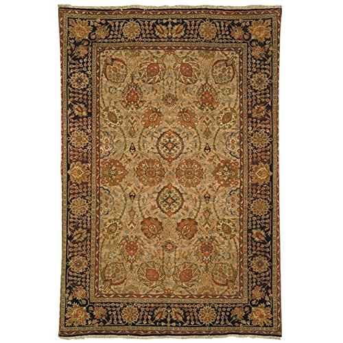 Safavieh Old World Collection OW118A Hand-Knotted Traditional Oriental Camel Wool Area Rug (5' x ()