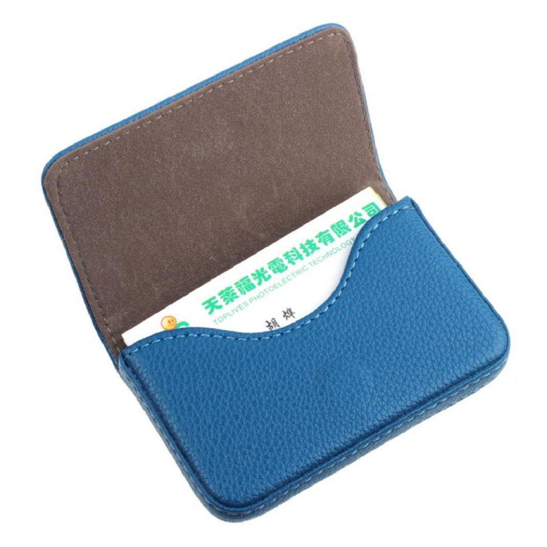 Kolylong® Credit Card Holder PU Leder Magnetic Geschäfts card Case Kasten Halter
