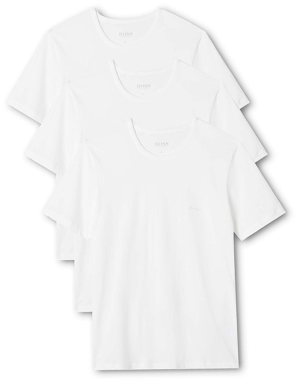 c4fd315a212 Hugo Boss 3-Pack Regular-Fit Crew-Neck Men s T-Shirts