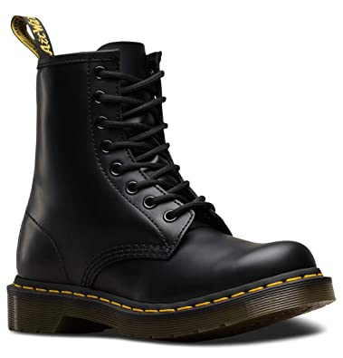 82d3819ab20a Dr. Marten's Women's 1460 8-Eye Patent Leather Boots, Black Smooth Leather,