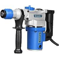 Kranich Perceuse à Marteau Perforateur Prise EU 1000W Ensemble de Foret 8/10/12mm