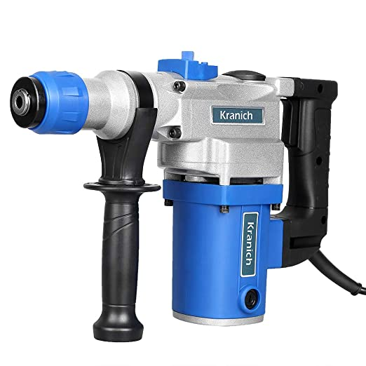 Taladro eléctrico percutor martillo profesional con cable SDS 1000w: Amazon.es: Bricolaje y herramientas