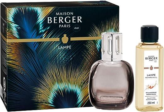 Lampe Berger Etincelle Bois de Rose Coffret de Lampe Parfumé
