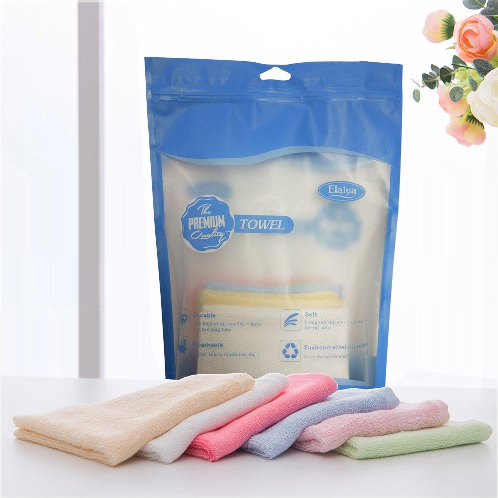 BLUESTAR bebé paños de bambú 100% Natural, suave absorbente toallas para bebé (para piel sensible, Baby Shower Regalos, 26 cmx26 cm (6-Pack): Amazon.es: ...