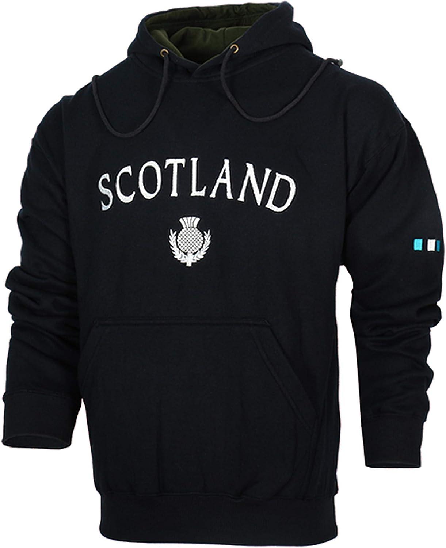 Malham USA Scotland Scottish Thistle Hooded Sweatshirt