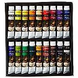 Jack Richeson Paints Oil Colors, 12ml, Set of 18