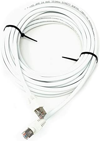 30ft. White CAT5E Ethernet Cable **Free Shipping**