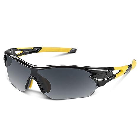 Gafas de sol polarizadas deportivas para hombres, mujeres, jóvenes, béisbol, ciclismo,