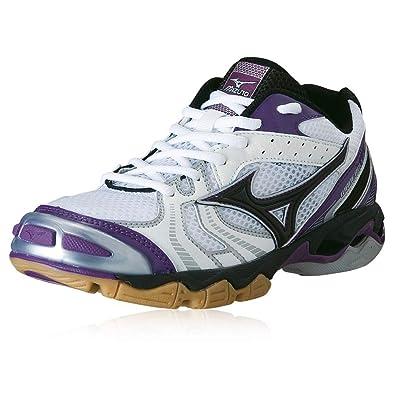scarpe da pallavolo mizuno porpora