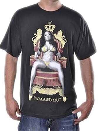 t i t s swagged out t shirt amazon com