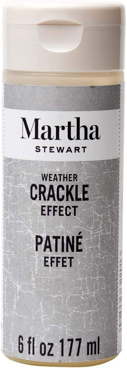 Martha Stewart Crafts Martha Stewart Weather Crackle Effect: 6 Ounces Paint, 6 oz