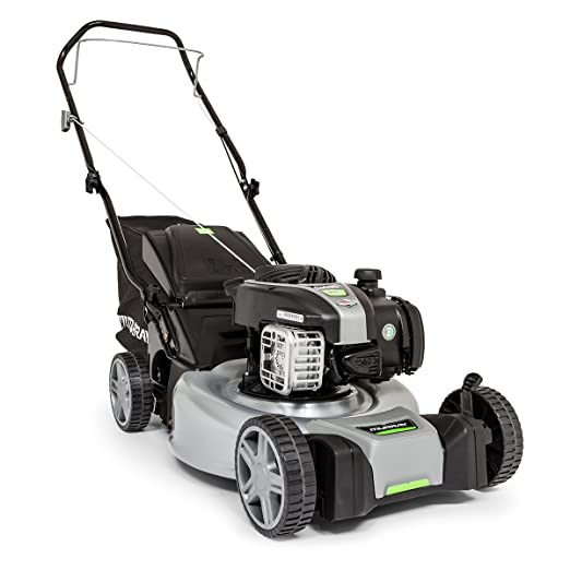 Murray EQ400 - Cortacésped manual de gasolina de empuje de 46 cm con motor Briggs & Stratton 450E Series, 2691472